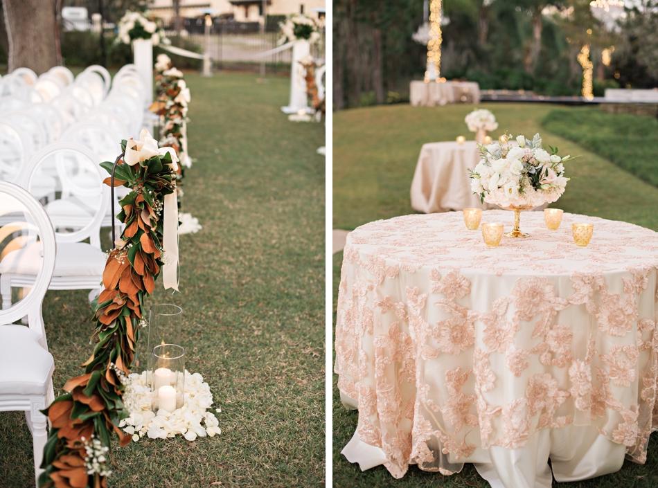 Luxury Backyard New Year S Eve Wedding Orlando Wedding