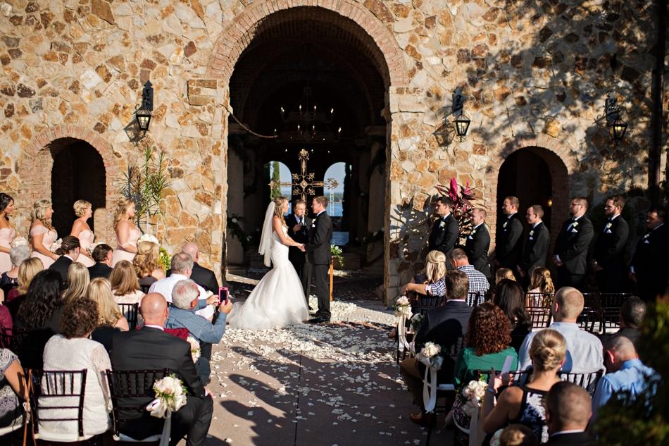 bella collina ceremony