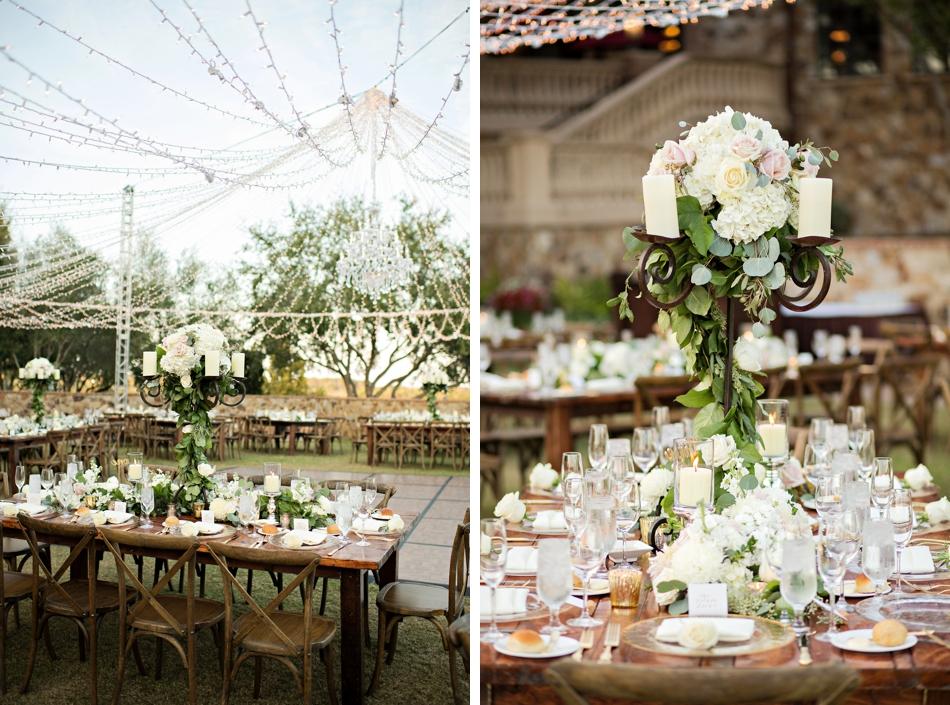 lavish reception design