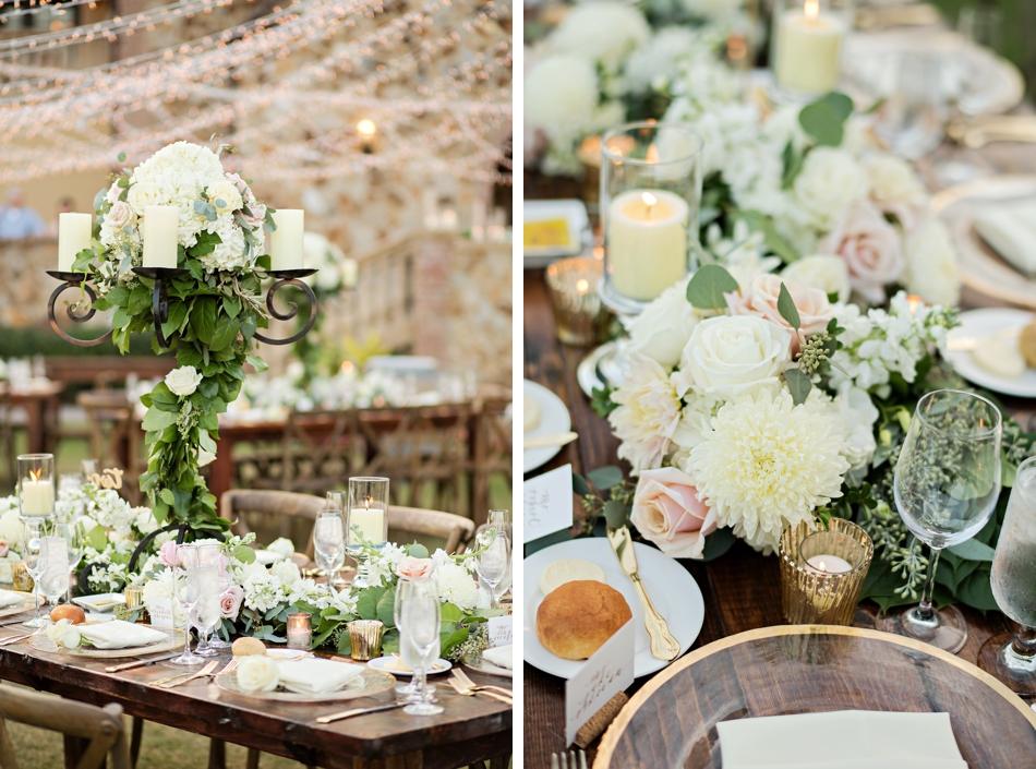lee james floral reception design