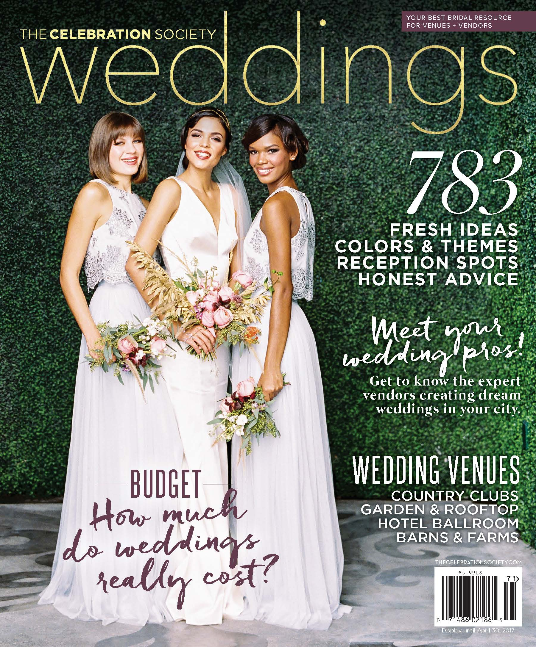 The Celebration Society weddings 2017 issue