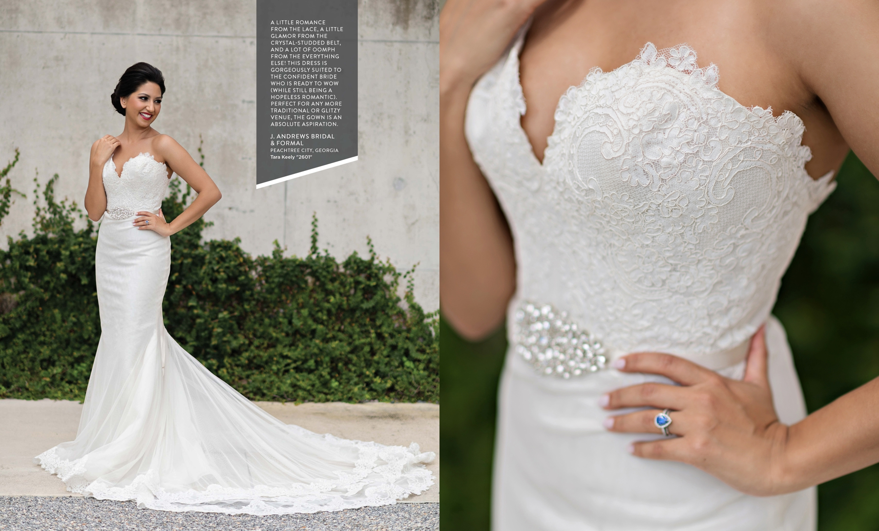 Tara Keely 2601 wedding gown