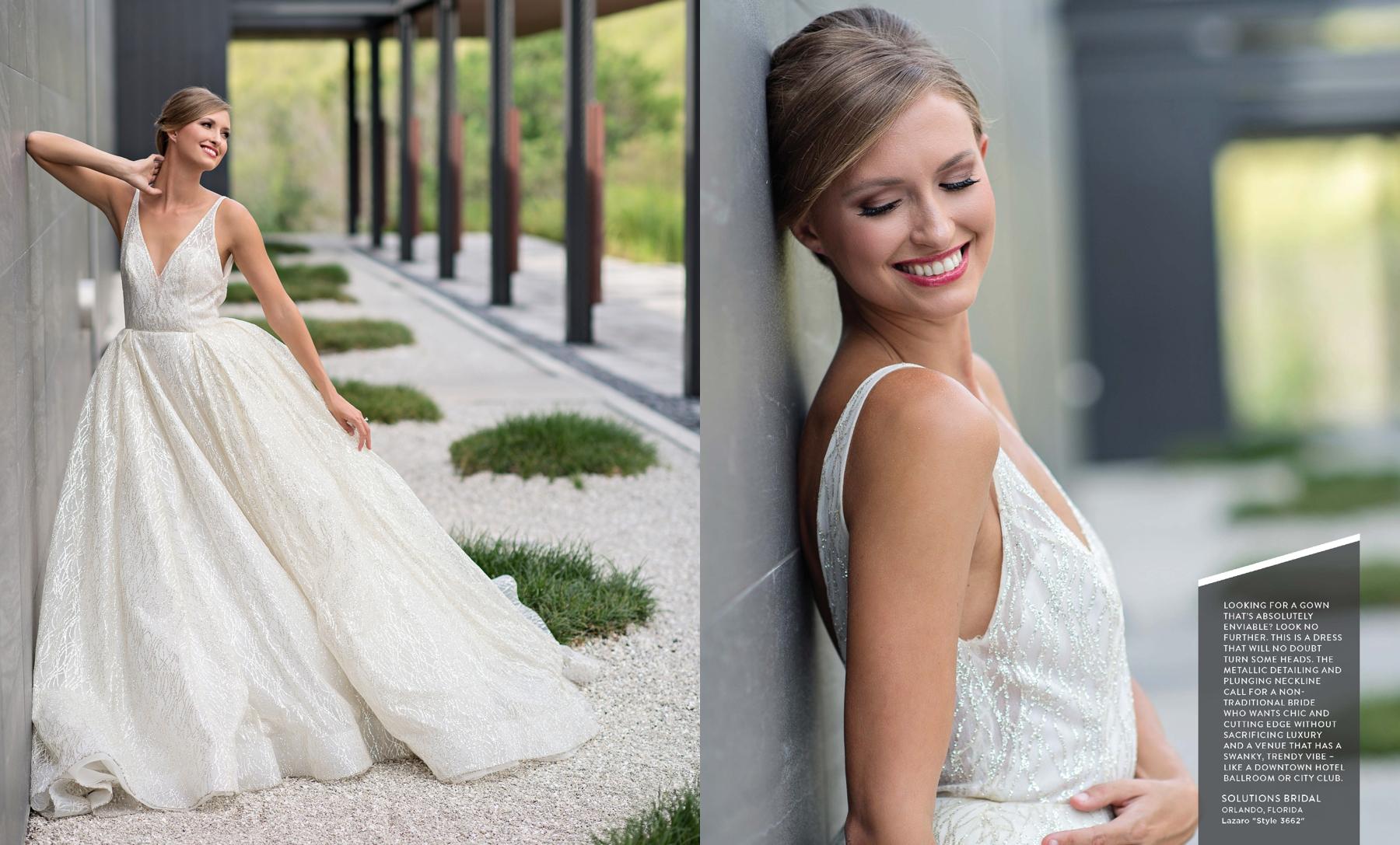 Lazaro 3662 wedding gown