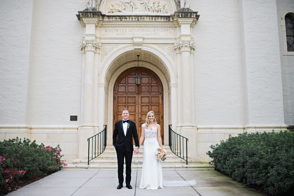 winter park wedding at rollins college