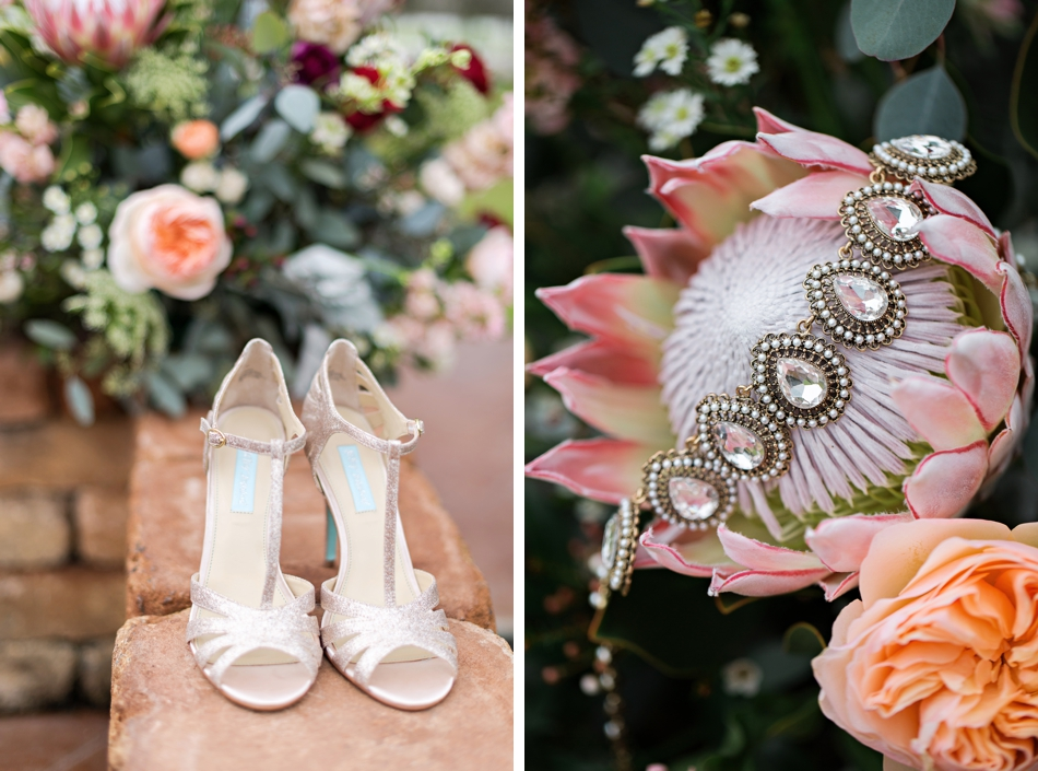 Betsey Johnson bridal shoes