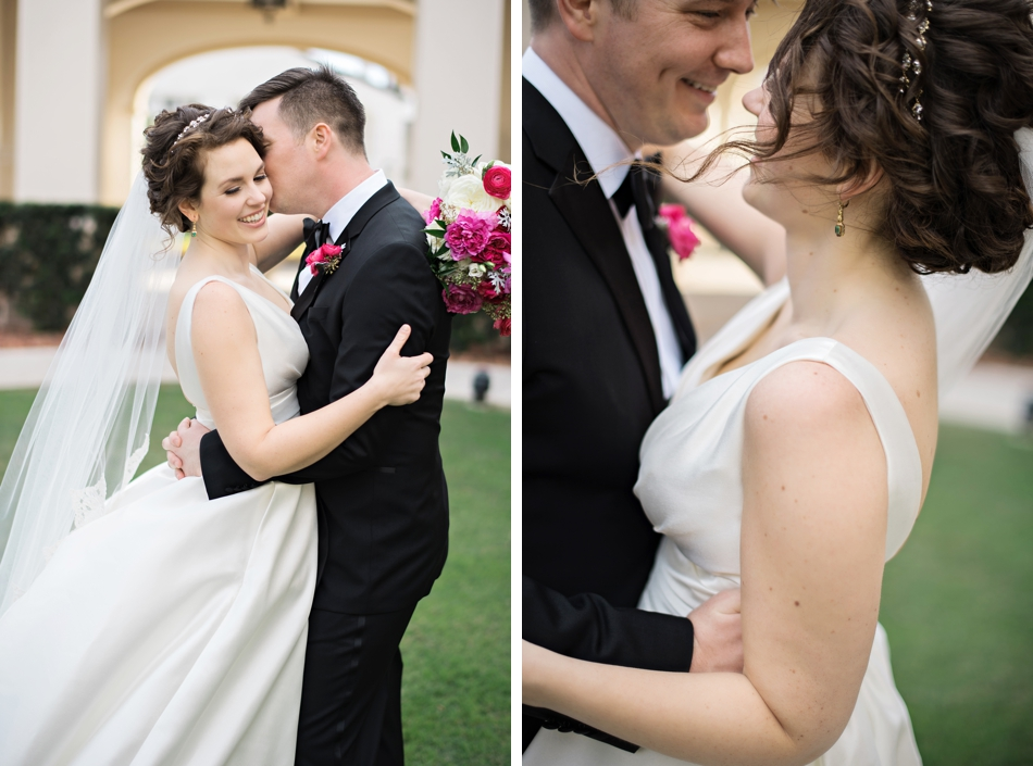gorgeous wedding day hair and makeup