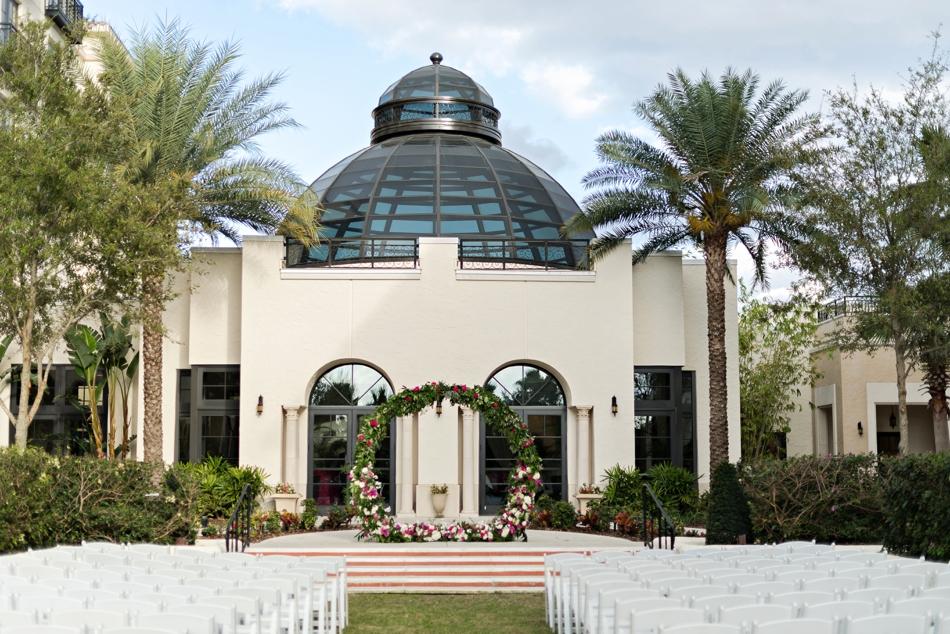 beautiful ceremony venue in florida