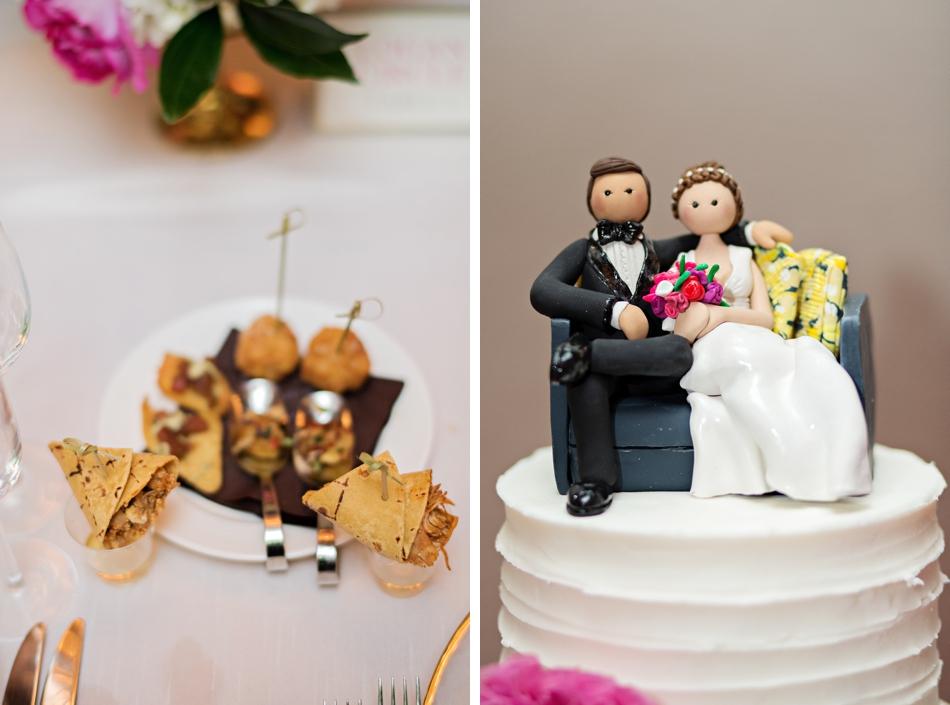 cute cake topper for wedding cake