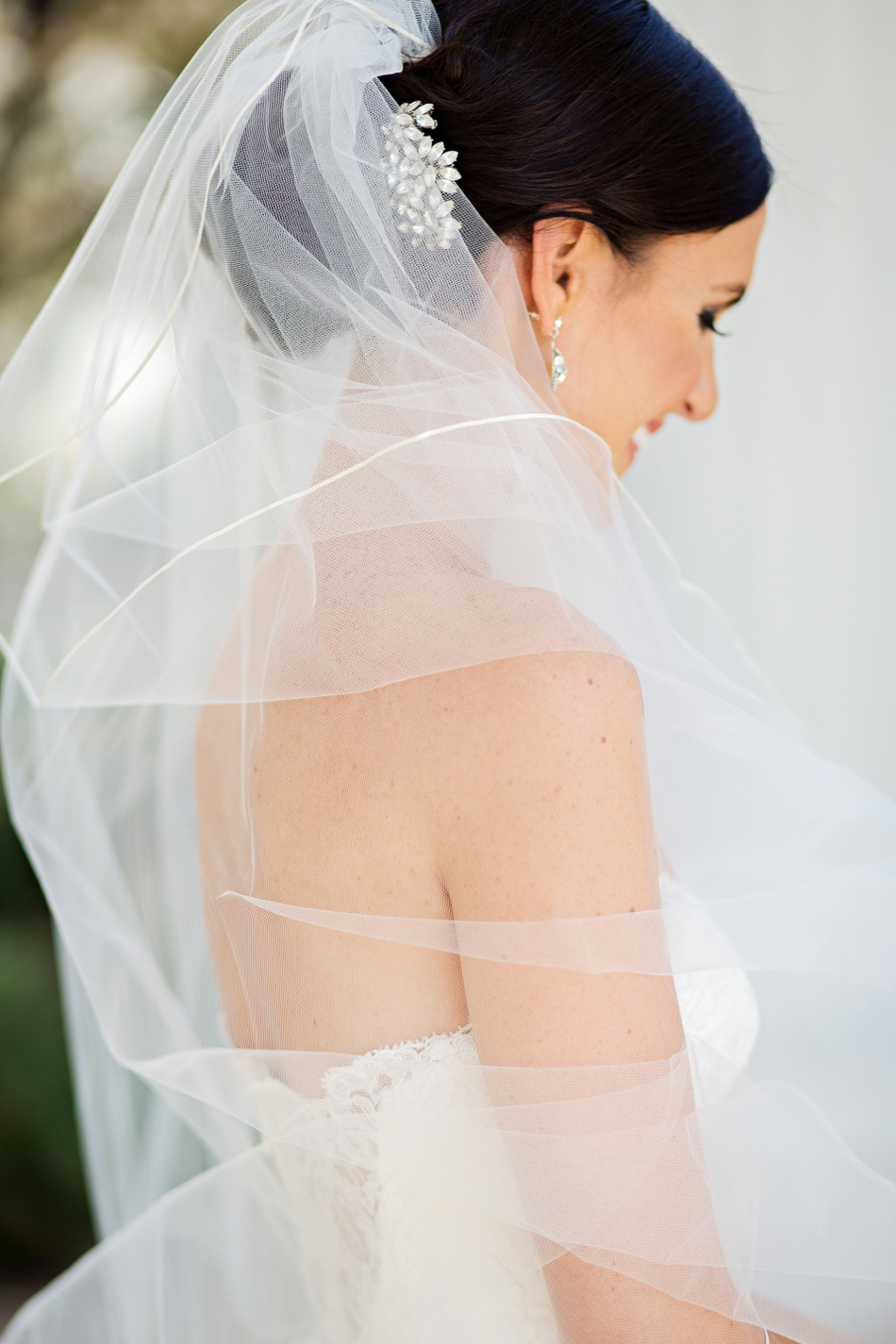 beautiful veil photo