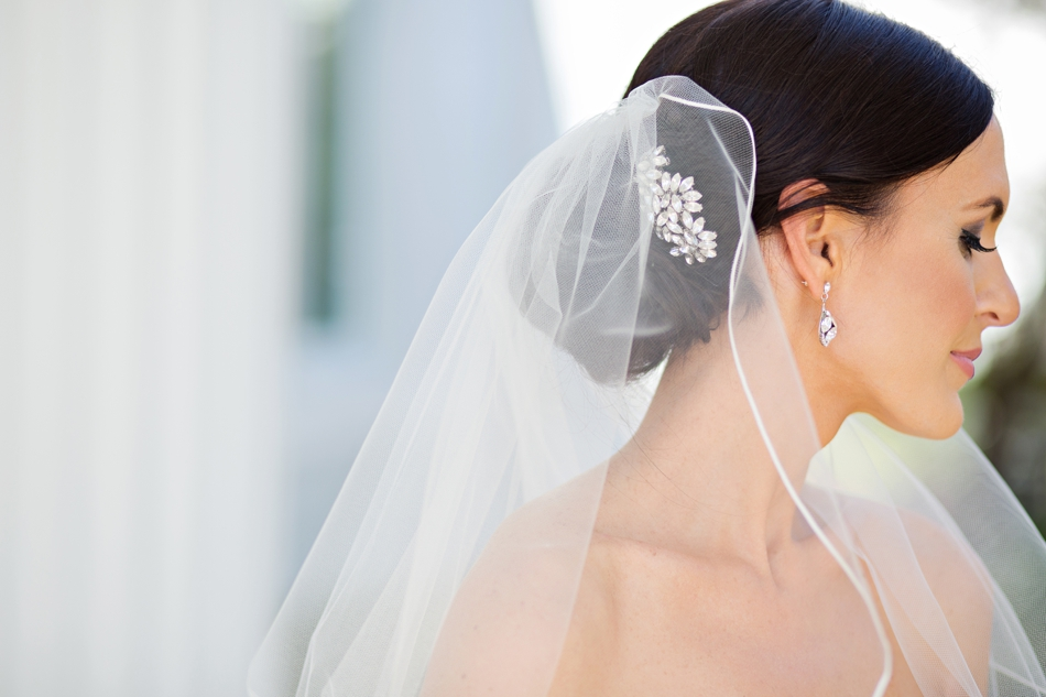 bridal updo hair style