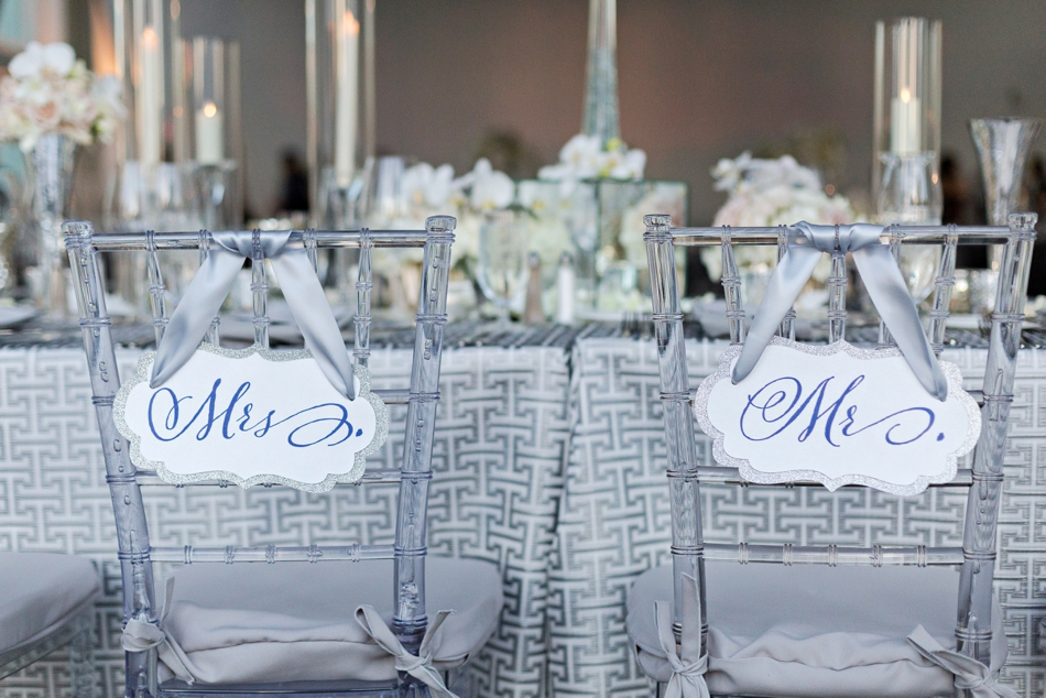 acrylic wedding decor chairs