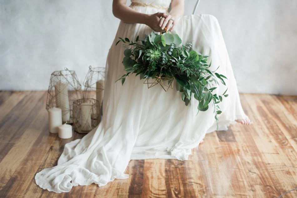 Succulent Bouquet Basket
