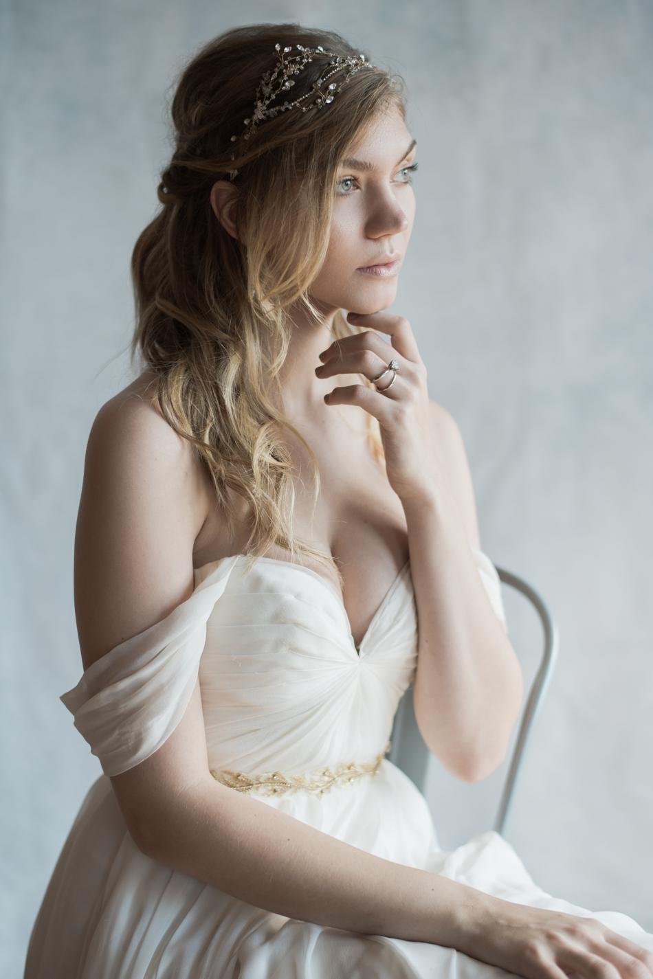 Tiny bridal details