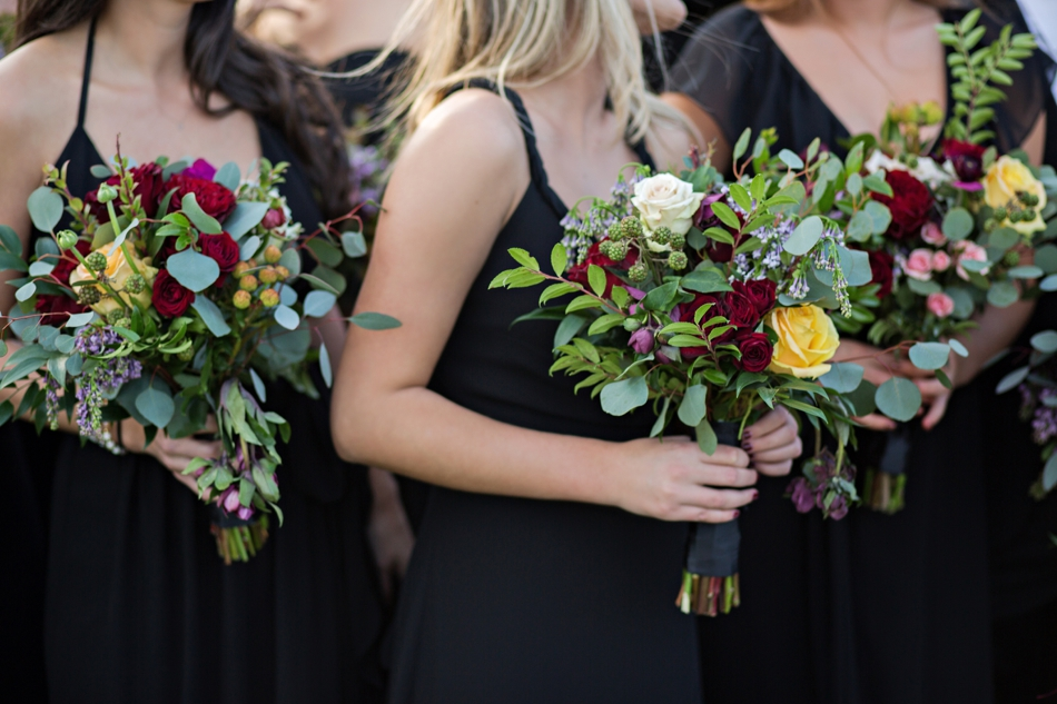 unique bridesmaids bouquets