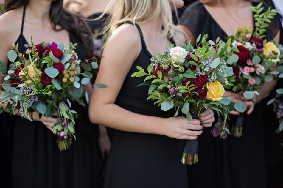 unique bridesmaids bouquets