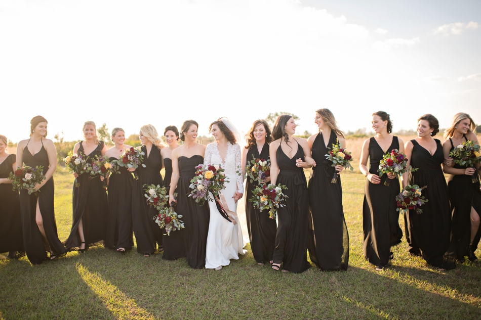 candid bridesmaids photos