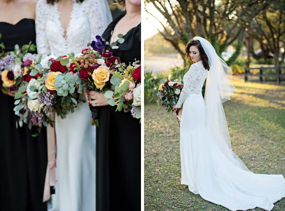 lace wedding gown by tara keely