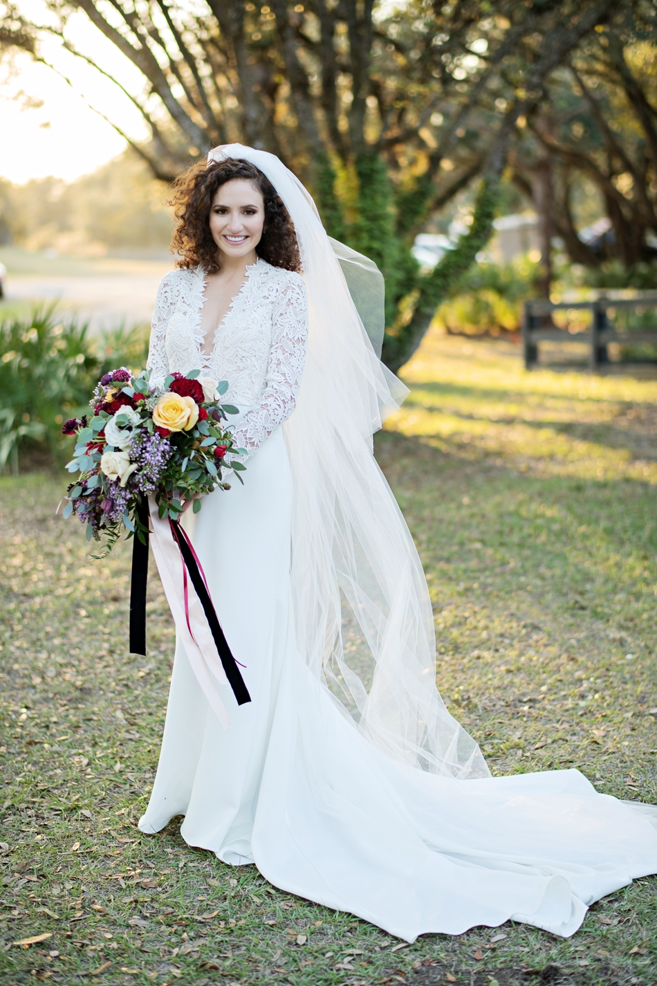 beautiful wedding day bride style