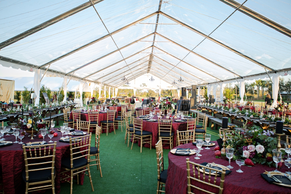 luxury wedding, tented wedding