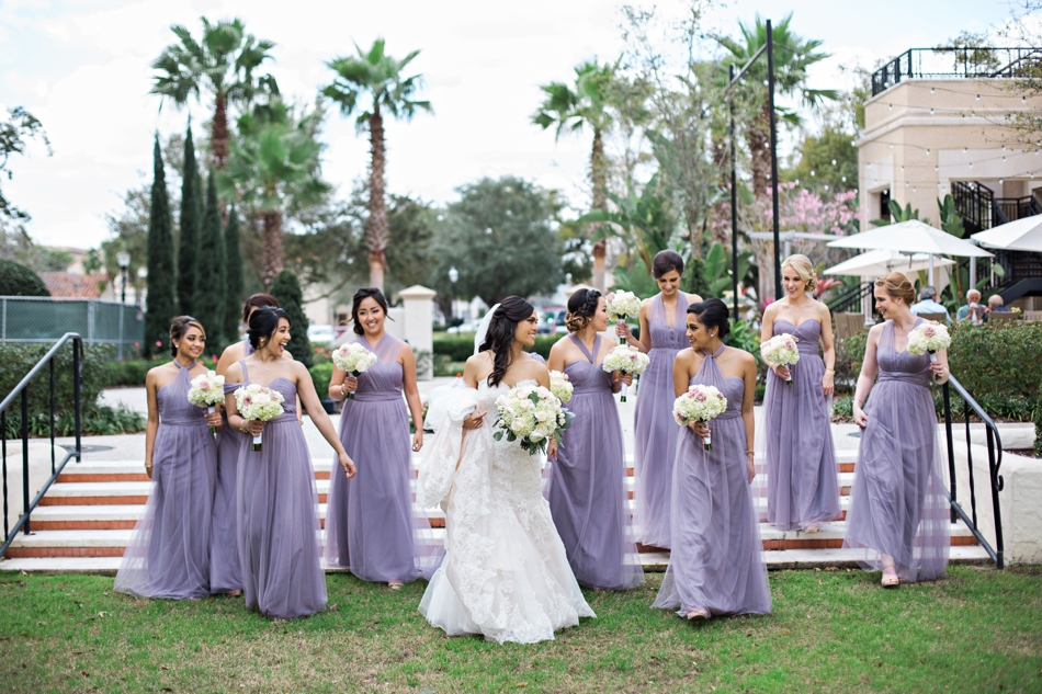 candid bridesmaids photo