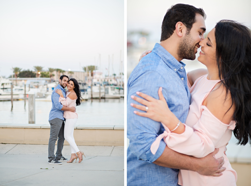 engagement session by the water in orlando