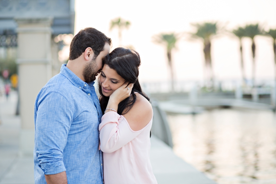 downtown sanford engagement session
