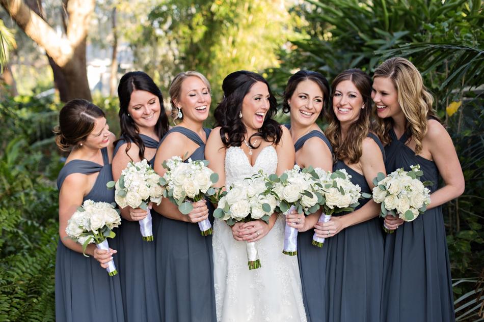 fun bridesmaids photo