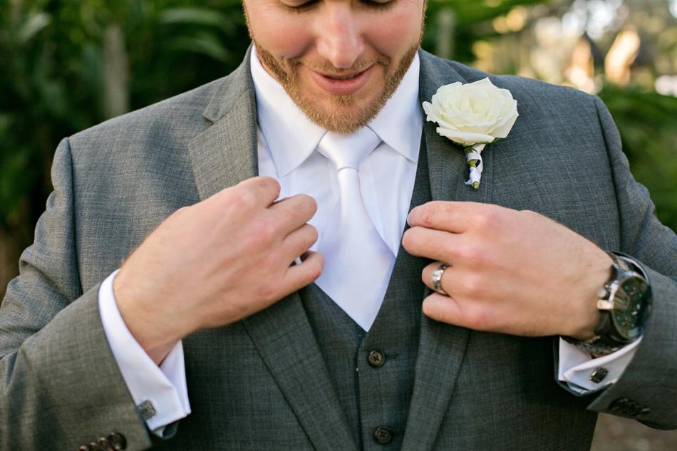 groom fixing jacket