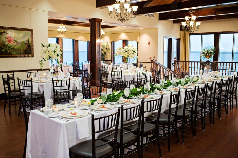 tavares pavilion lake wedding reception