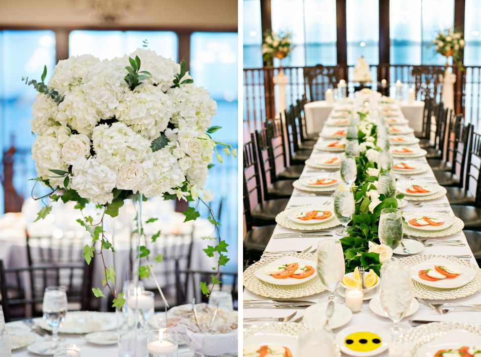 caprese salad appetizer wedding reception