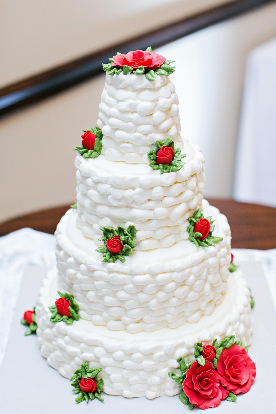 grandparents wedding cake recreation