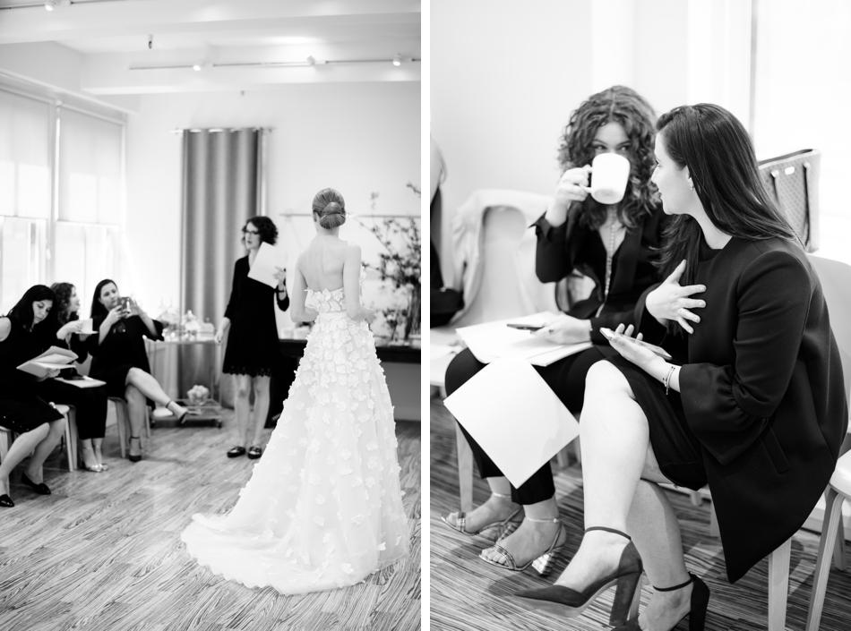Lela Rose showroom NYBFW