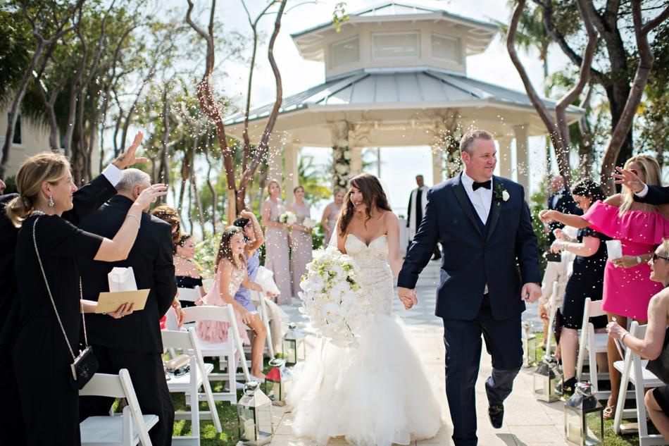 Destination wedding in Playa Largo Resort Florida