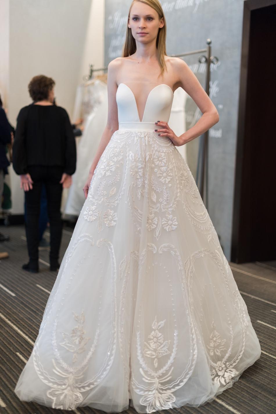 Reem Acra Bridal SS18