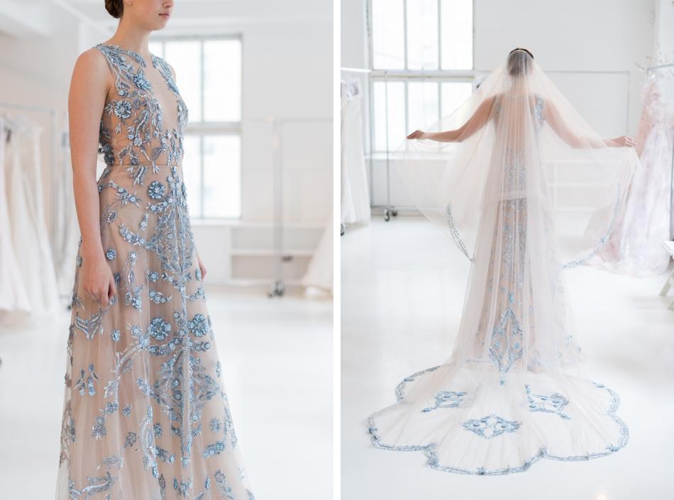 Rivini bridal SS18 - Blue wedding dress