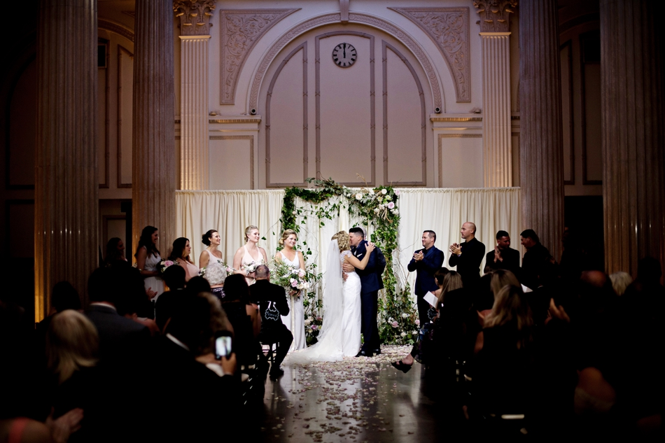 treasury on the plaza wedding