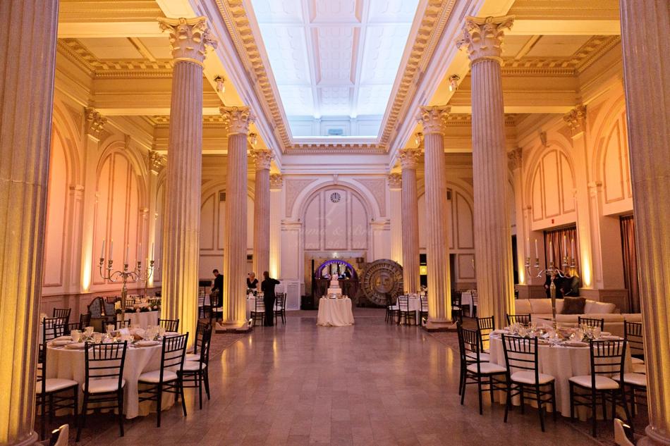 treasury on the plaza wedding reception