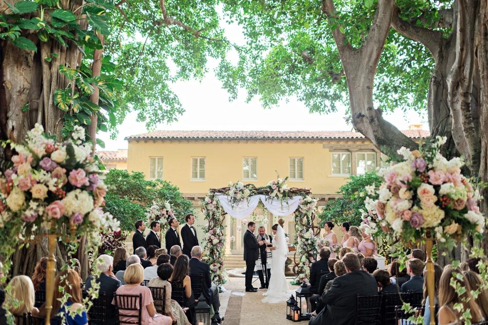 jewish wedding ceremony and chuppah