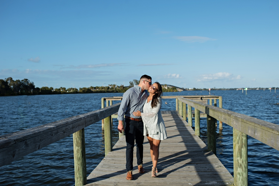 engagement session by the water
