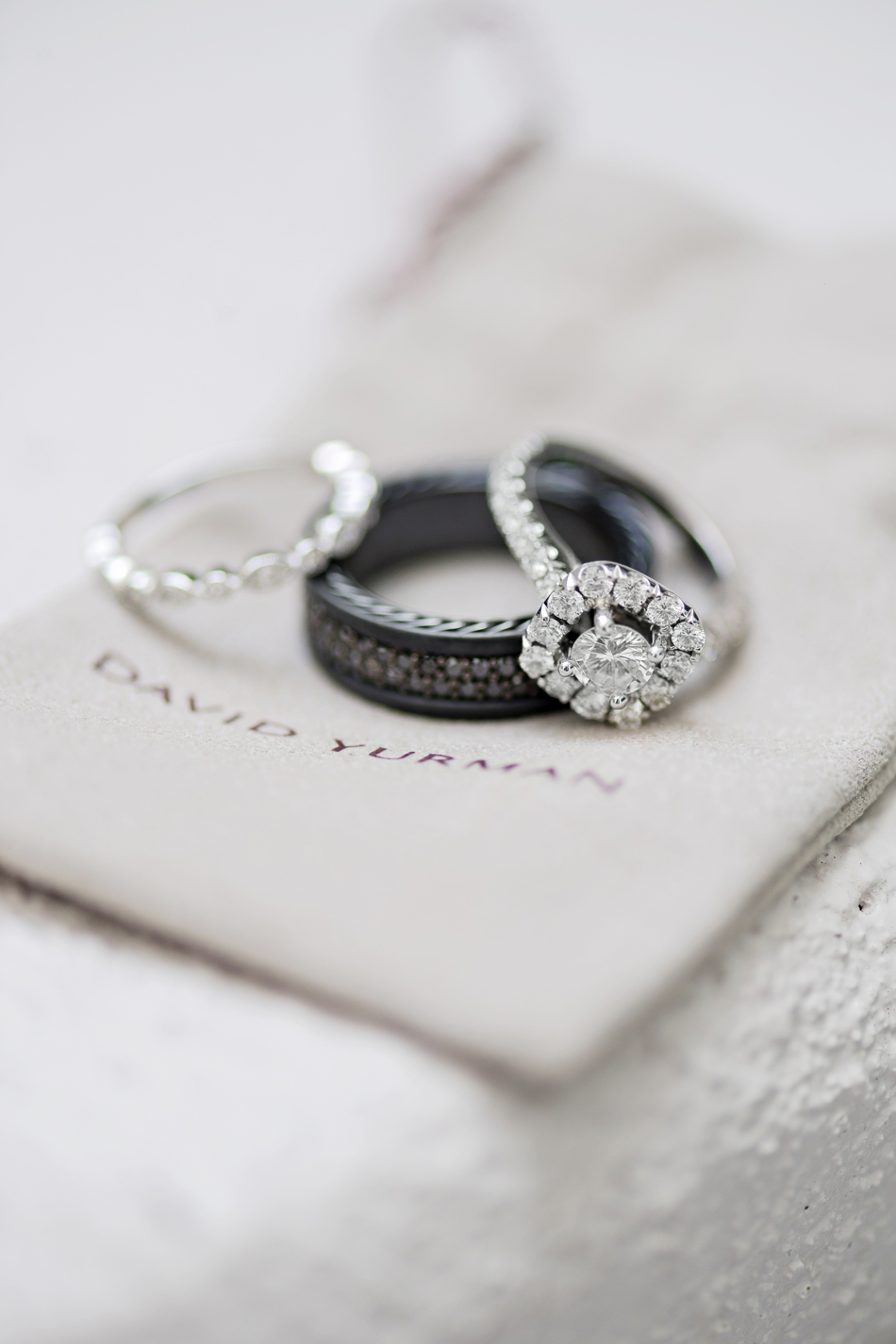 David Yurman wedding ring