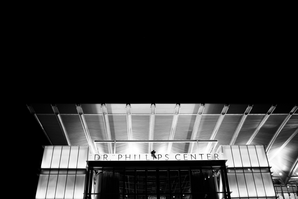 Black and white dr.phillips center