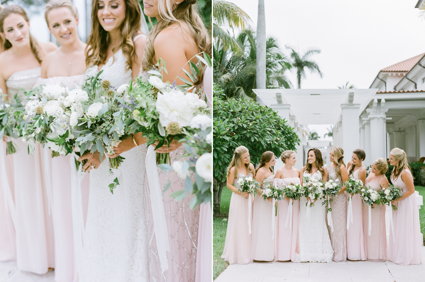 miami wedding photographed with film