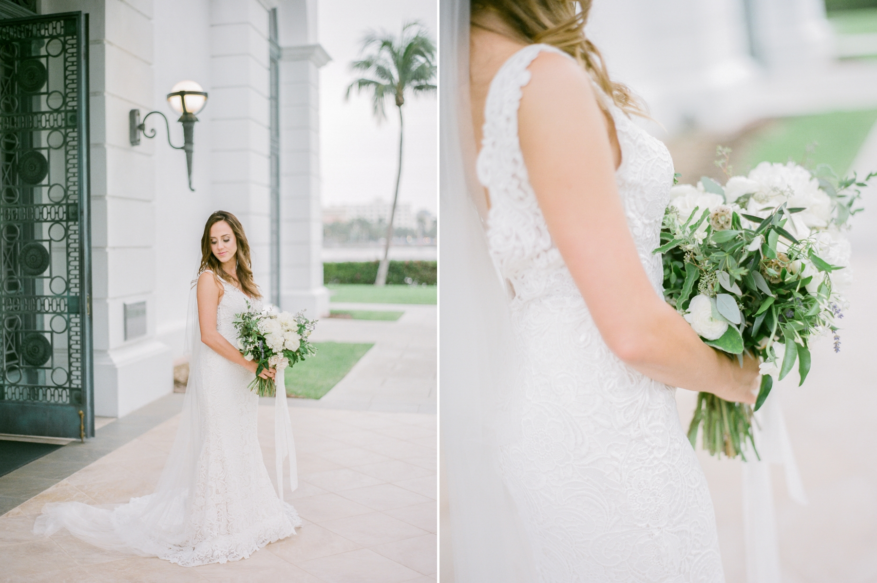 Bridal portraits - Miami film photographer