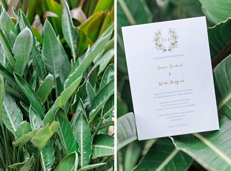 garden wedding invation