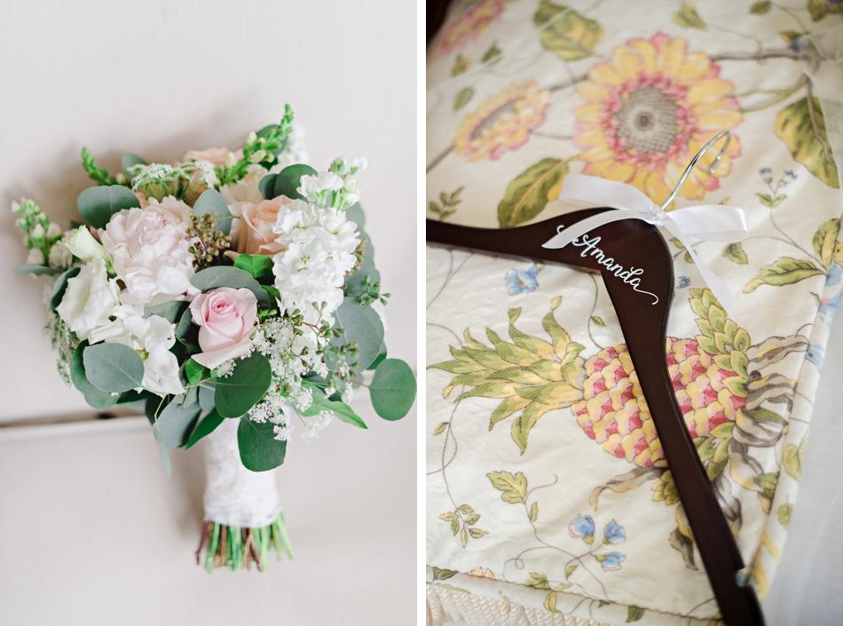 bride monogrammed hanger