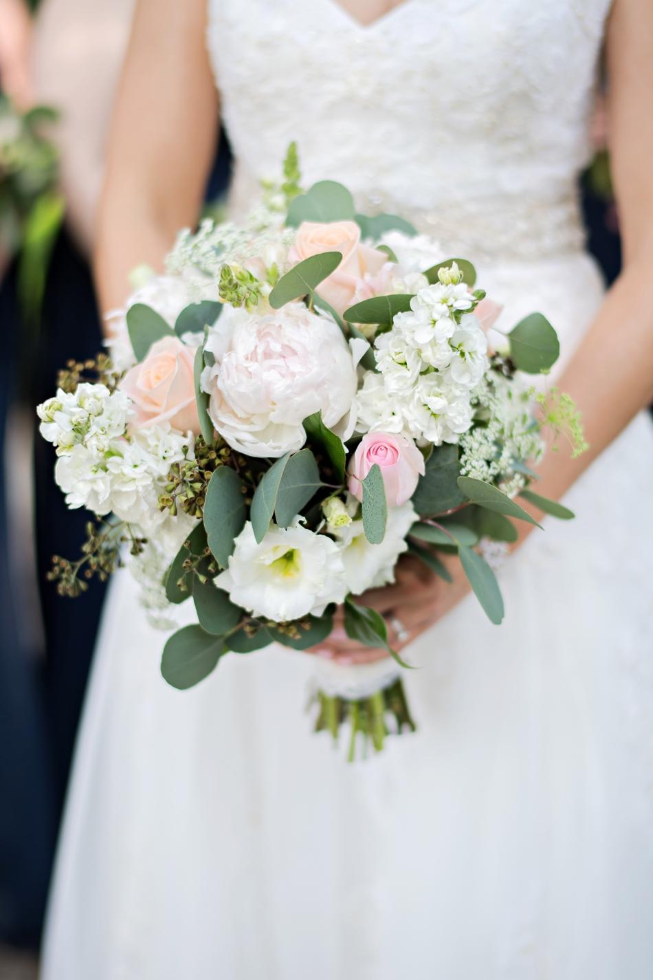 beautiful white bouquet