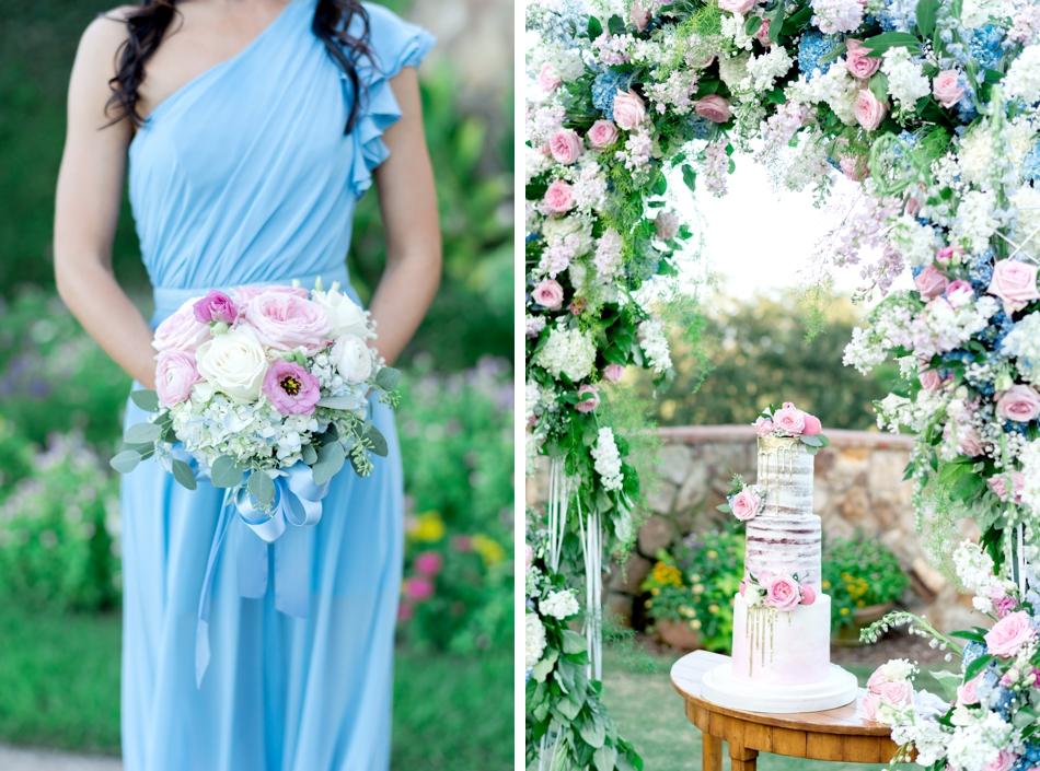 luxury bella collina wedding