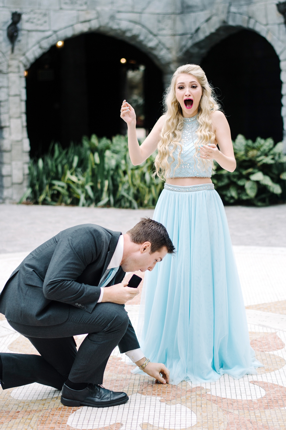 guy drops ring during proposal